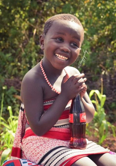 One of the photos from Daggy Shy's viral Baringo Girl series
