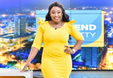 Betty Kyallo at the K24 studios on May 30, 2020.