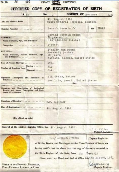 An image of a birth certificate