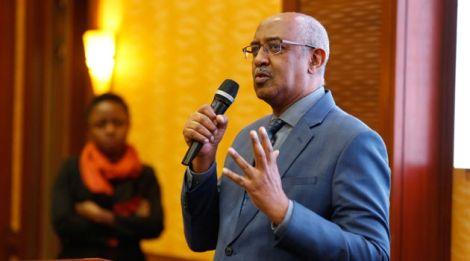 Ministry of Health Chief Administrative Secretary Dr. Rashid Abdi Aman