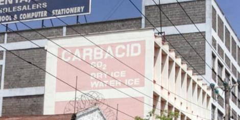 Carbacid factory based in Industrial Area, Nairobi