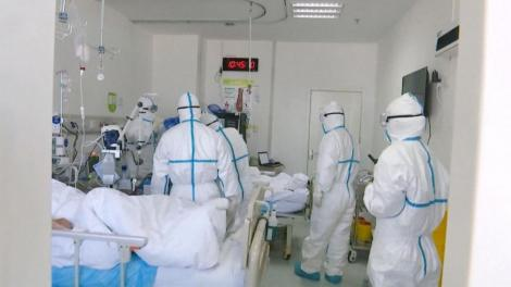 An image of medical officers in a hospital
