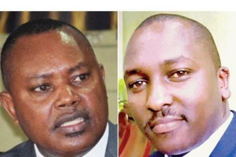 Director of Public Prosecutions George Kinoti and the late Sergeant Kipyegon Kenei.