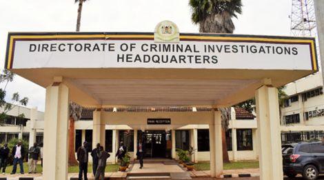 The DCI offiices in Kiambu