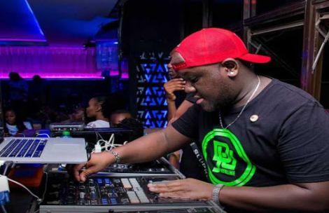 DJ Joe Mfalme during a previous gig