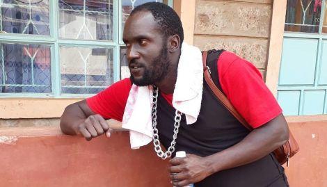Comedian Steven Oduor Dede alias DJ Shiti