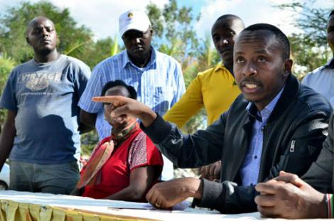 Dagoretti South Member of Parliament John Kiarie.