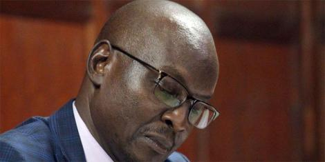 Chief Magistrate Douglas Ogoti at Milimani Law Court on Thursday, April 04, 2019.