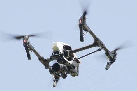 File image of a drone