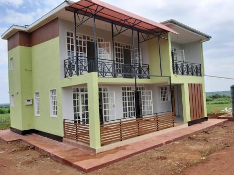 A complete 2-storey prefabricated house