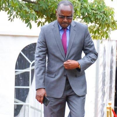 File image of Emmanuel Talam, Director of Communication in the Office of the Deputy President