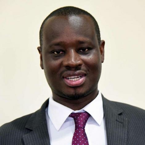 File image of Kenya Union of Journalists (KUJ) Secretary-General Eric Oduor