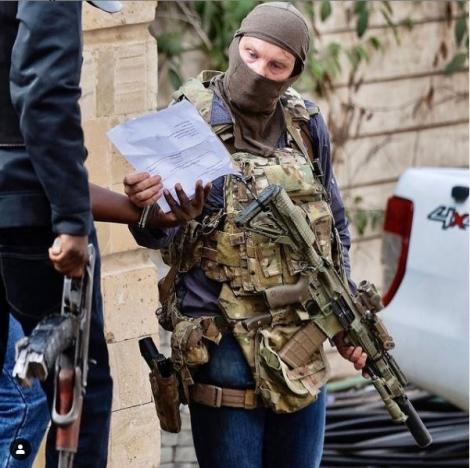 Former British SAS officer Christian Craighead at Dusit D2 in January 2019