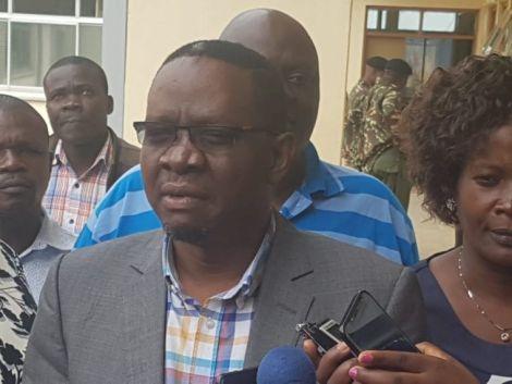 Former Kisumu County Assembly Speaker Onyango Oloo