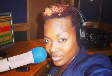 Former Nation FM Presenter Angela Angwenyi.