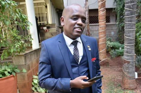 Former Digital Communications Director at the Presidential Strategic Communications Unit Dennis Itumbi.