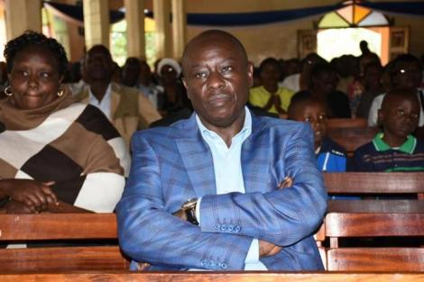 Mathira MP Nderitu Gachagua at a past event in Nyeri in 2018