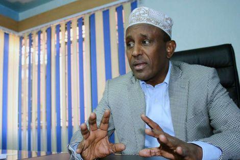 File image of Garissa Governor Ali Korane