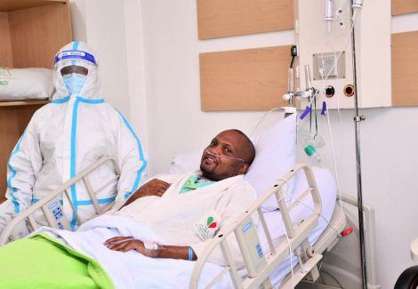Gatundu South MP Moses Kuria admitted at Karen Hospital