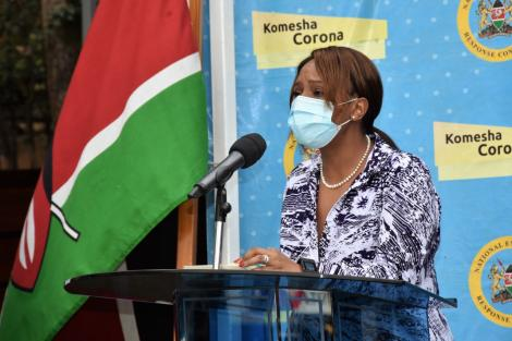 Health Chief Administrator Dr Mercy Mwangangi