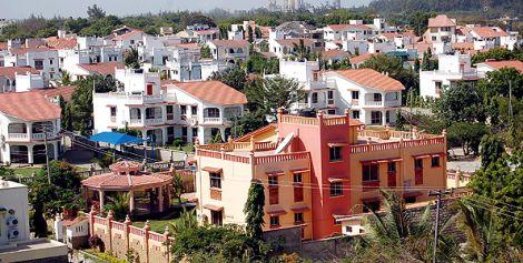 File photo of lavish houses in Nyali, Mombasa