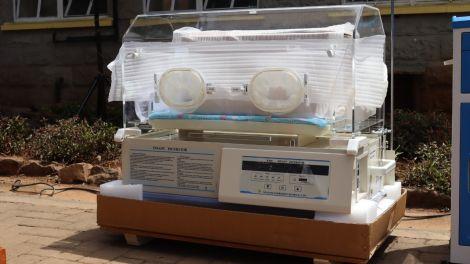 ICU equipment donated to Pumwani Hospital by Mozzart Bet