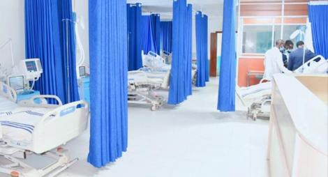 An ICU facility in Nandi County