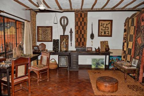 Interior of The African Heritage House Source :Twitter