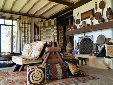Interior Display of The African Heritage House Source : Twitter