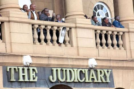A file image of the judiciary