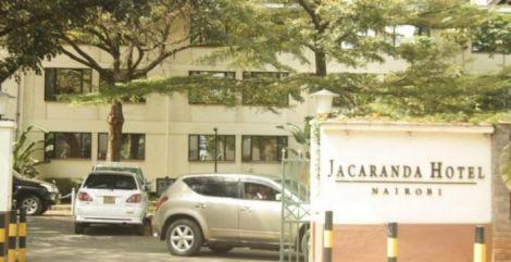 Jacaranda Hotel located in Westlands, Nairobi.