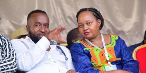 Governors Hassan Joho and Anne Waiguru at a past event
