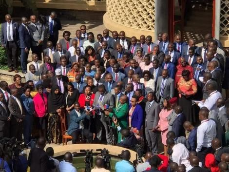 Members of the Jubilee Parliament