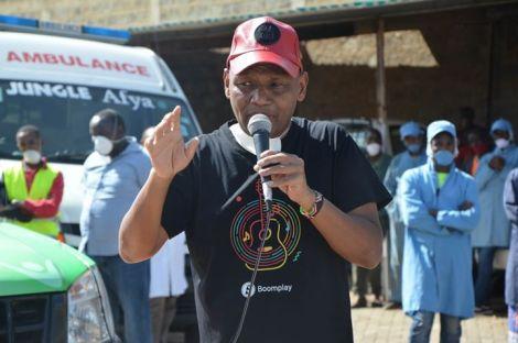 File image of Thika Town MP Patrick Wainaina