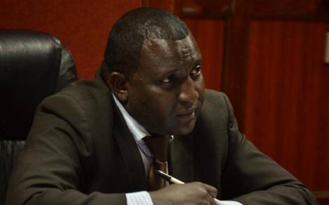 Justice Weldon Korir during a court appearance.