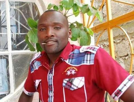 K24 Journalist George Kori. He took his own life on May 24, 2020.