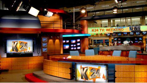 File image of K24 news studio.
