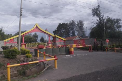 KDF Lanet Barracks in Nakuru.