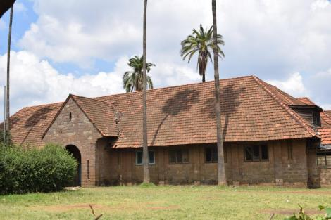 Kaloleni Social Hall.