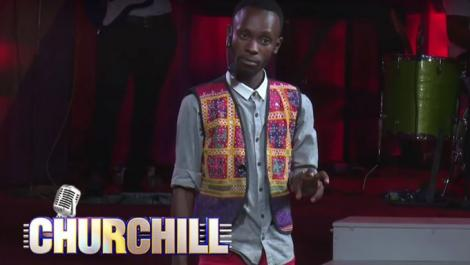 File image of comedian Kasee during a past appearance on Churchill Show