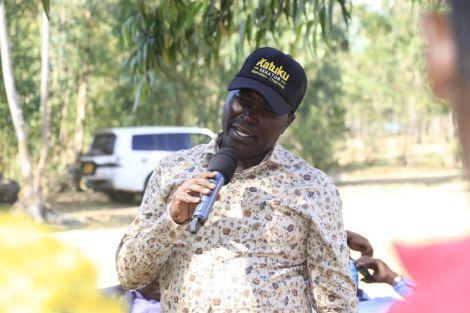 Maendeleo Chap Chap Machakos Senatorial by-election candidate John Mutua Katuku