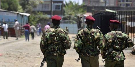 A file image of Kenya Police