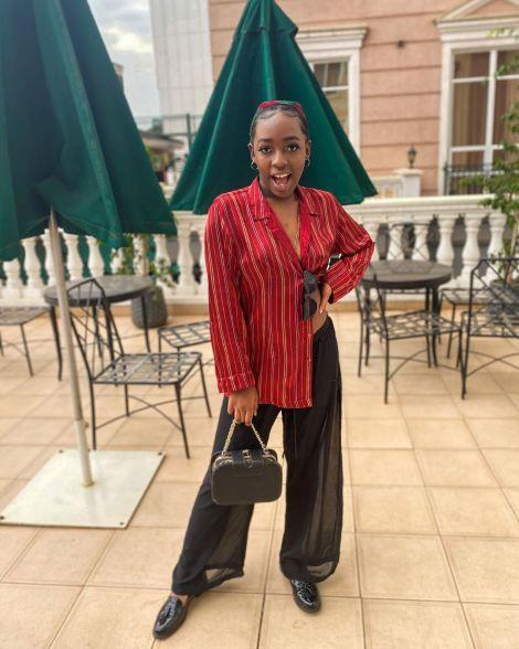 Kenyan comic Elsa Majimbo