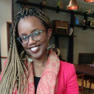 Kenyan filmmaker Toni Kamau