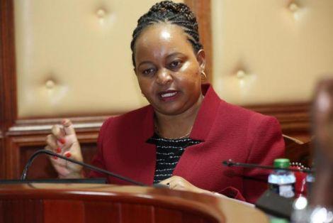 Kirinyaga Governor Anne Waiguru. She was impeached on June 9, 2020.