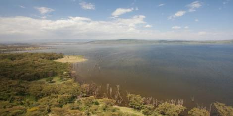 A file image of Lake Nakuru