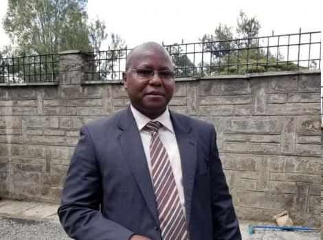 Lawrence Karanja the Trade and Industrialization Chief Administrative Secretary