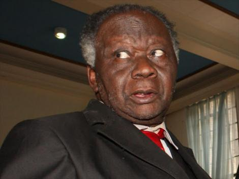 Lawyer John Khaminwa