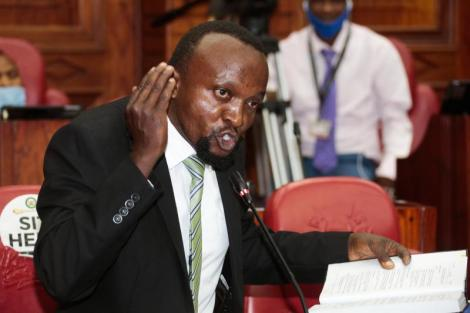 Lawyer Ndegwa Njiru.