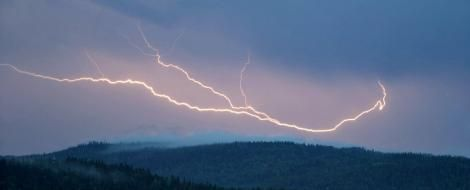 An image of lightning